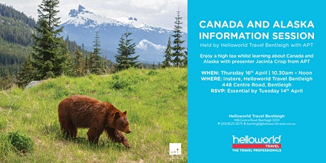 Canada and Alaska Travel Information - High Tea tickets