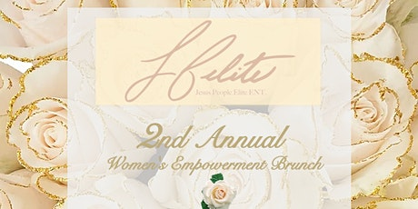 2nd Annual  JP ELITE Women's Empowerment MIND. BODY. SOUL Brunch tickets