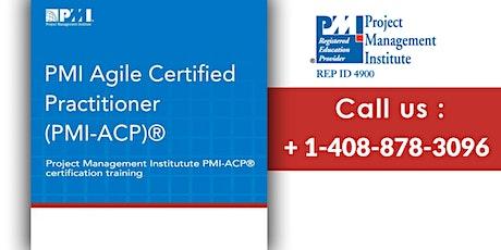 PMI-ACP (PMI Agile Certified Practitioner) Training in Richmond tickets
