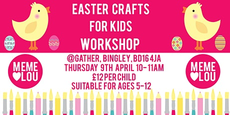 Easter crafts tickets