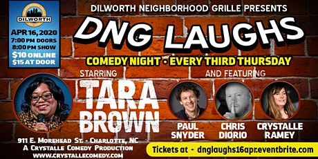 DNG Laughs - Third Thursdays - APRIL tickets