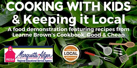 Cooking with Kids: Good, Affordable & Local - Iron Mountain tickets