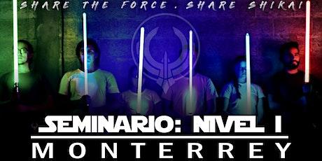 Seminario:Nivel 1 - Monterrey boletos