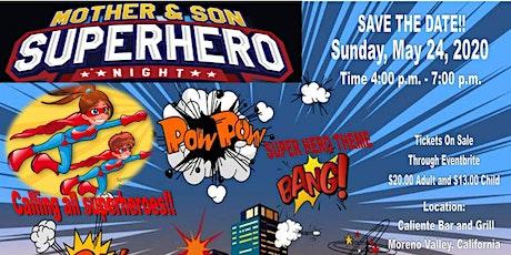 Mother & Son Superhero Night tickets