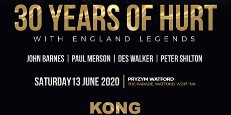 An Evening With England Football Legends - 30 Years Of Hurt tickets