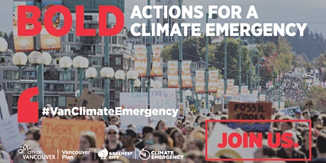 Climate Emergency Dialogue: Let's Plan Vancouver Together tickets