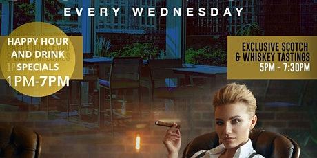 Cigar & Alcohol Tasting Every Wednesday! tickets