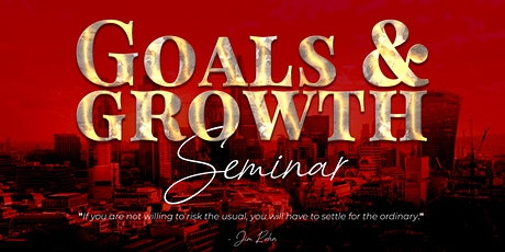 Goals & Growth Seminar 2020 tickets
