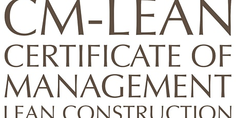 LEAN CONSTRUCTION - Units 1 to 7 (Members QAR5,500/ Nonmembers QAR6,500) tickets