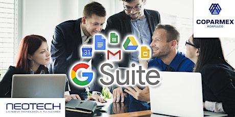 Google Suite para Empresas entradas