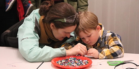 Free Activities: Bead Stringing & Silk Screening - Open Studios Activities tickets