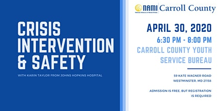 Crisis Intervention and Safety tickets