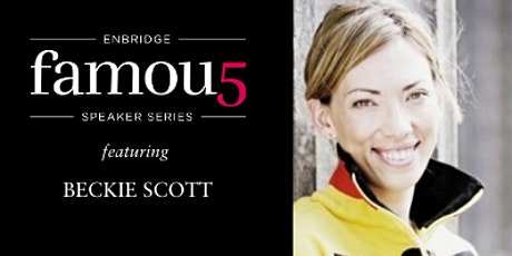 Enbridge's Famous 5 Virtual Pink Tea Conversations with... Beckie Scott, O.C., A.O.E tickets