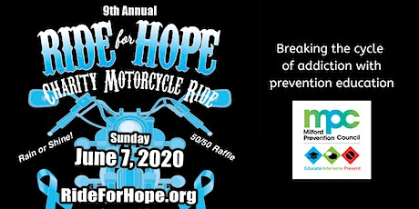 Ride For Hope 2020: A Charity Motorcycle Ride for Youth Substance Use Prevention tickets