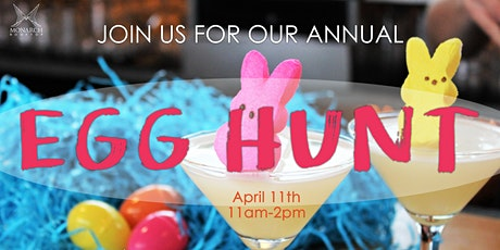 Annual Egg Hunt @ Monarch Rooftop  tickets