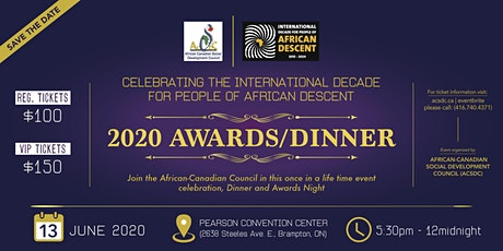 CELEBRATING THE INTERNATIONAL DECADE FOR PEOPLE OF AFRICAN DESCENT tickets