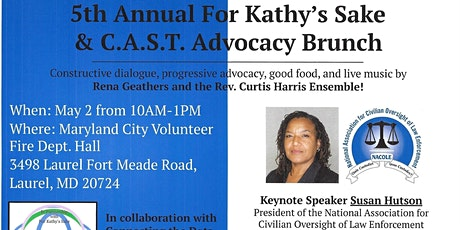 5th Annual For Kathy's Sake & C.A.S.T. Advocacy Brunch tickets