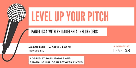 POSTPONED - NEW DATE COMING SOON! Level Up Your Pitch tickets