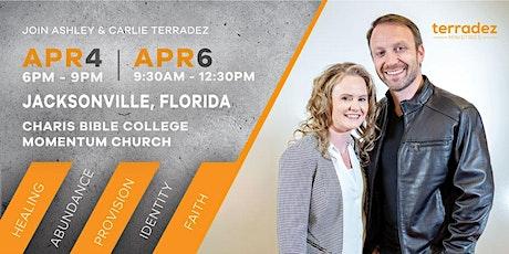 Terradez at Charis Jacksonville tickets