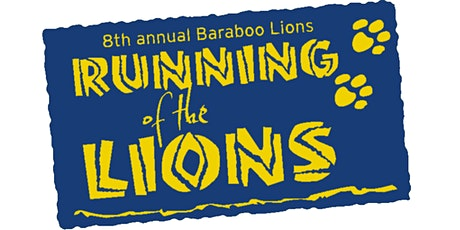 POSTPONED - Running of the Lions 2020 - Baraboo's 8th Annual Strides Against Diabetes 5k Fun Run/Walk  tickets