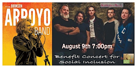 The Bronson Arroyo Band's concert for Social Inclusion tickets