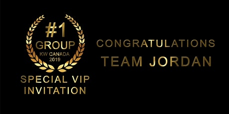 Special VIP Invitation For the #1 Group KW Canada 2019 tickets