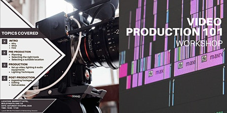 Video Production 101 Workshop tickets