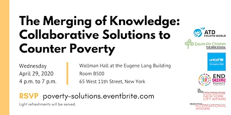 The Merging of Knowledge: Collaborative Solutions to Counter Poverty tickets