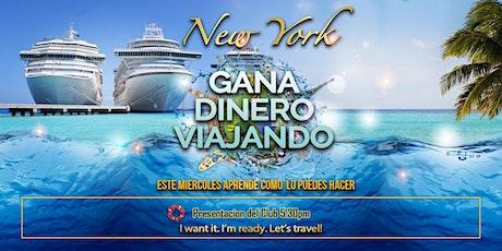 Gana Dinero Viajando l Get Paid to cruise tickets