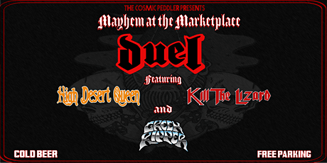 The Cosmic Peddler presents:  Mayhem in the Marketplace tickets