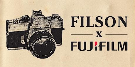 Filson x Fujifilm Photography Workshop tickets