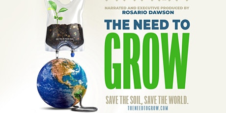 Earth Day 2020: The Need To Grow tickets