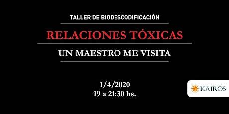 """Taller de Biodescodificación: """"Relaciones Tóxicas"""" entradas"""