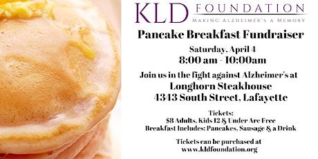 2020 Pancake Breakfast at Longhorn Steakhouse - An Alzheimer's Benefit tickets