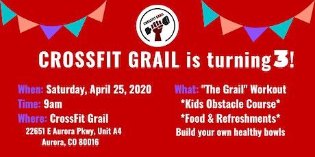 CrossFit Grail 3-Year Anniversary Celebration tickets