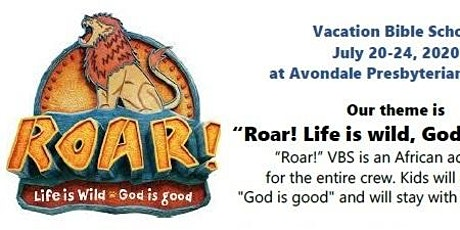 Vacation Bible School at Avondale July 20-24, 2020 tickets