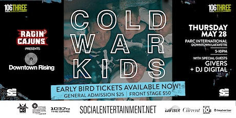 Downtown Rising Presents: Cold War Kids tickets