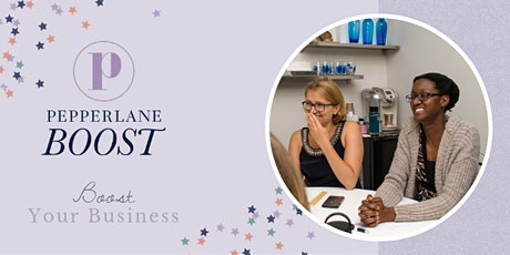 Pepperlane Boost: ONLINE Meeting (Led by Shari Monnes) tickets