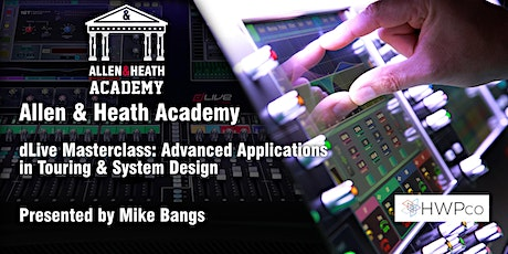 Allen & Heath Academy - Memphis (dLive) tickets