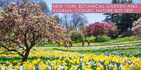 New York Botanical Garden and KUSAMA: Cosmic Nature Bus Trip Excursion tickets