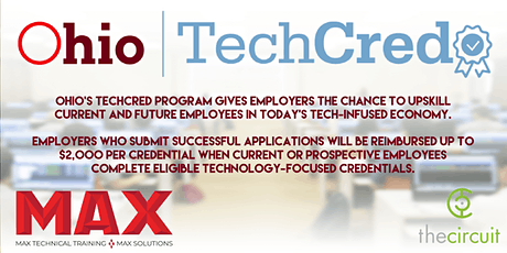 Ohio TechCred presented by MAX Technical Training and The Circuit tickets