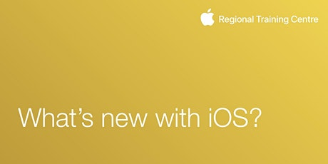 What's new with iOS? tickets