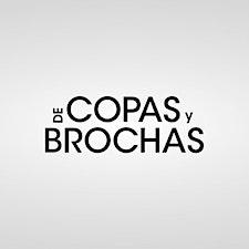 De Copas y Brochas logo
