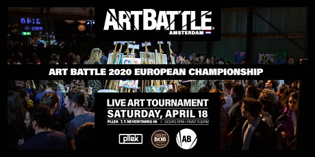 2020 Art Battle European Championship! - April 18, 2020 tickets