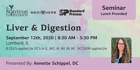 Optimizing Digestion and Liver Function - Presented by Annette Schippel, DC tickets