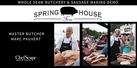 Whole Seam Butchery & Sausage Making Demo tickets