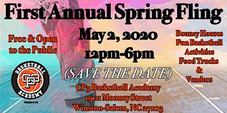 1st Annual CP3 Basketball Academy Spring Fling tickets