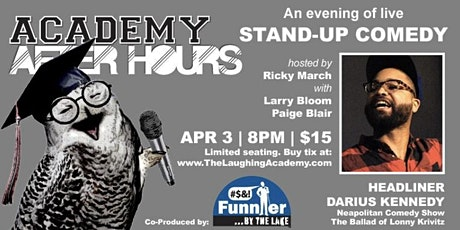 Academy After Hours First Friday Stand Up Comedy tickets