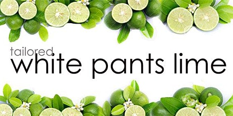 First Friday White Pants Lime tickets