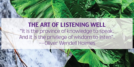 Tabor Workshops (Perth): The Art of Listening well tickets